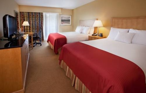 Doubletree Hilton Tampa Airport Westshore Airport bedroom