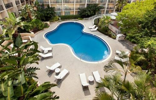 Doubletree Hilton Tampa Airport Westshore Airport pool 2