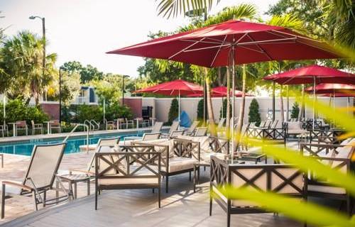 Epicurean Hotel Autograph Collection patio pool