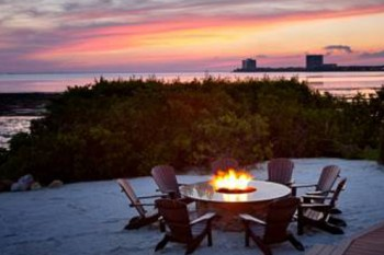 Grand Hyatt Tampa Bay fire pit