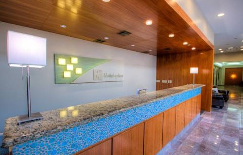Holiday Inn Tampa Westport Airport front desk
